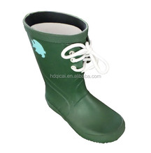 Cheap fashion beautiful children Rubber custom rain boots