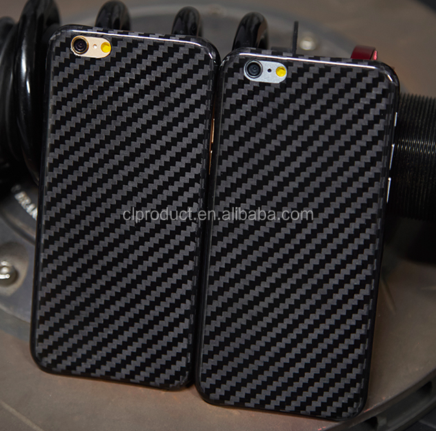 fashionable excellent quality Carbon fiber mobile phone case