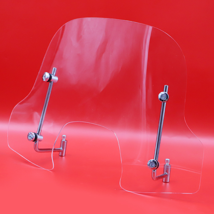 Good quality PMMA/PC scooter windshield <strong>motorcycle</strong> for Piaggio FLY 50