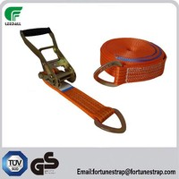 2 inch and 5000kgs breaking strength factory manufacture cheap price cargo lashing strap,ratchet tie down strap,cargo control