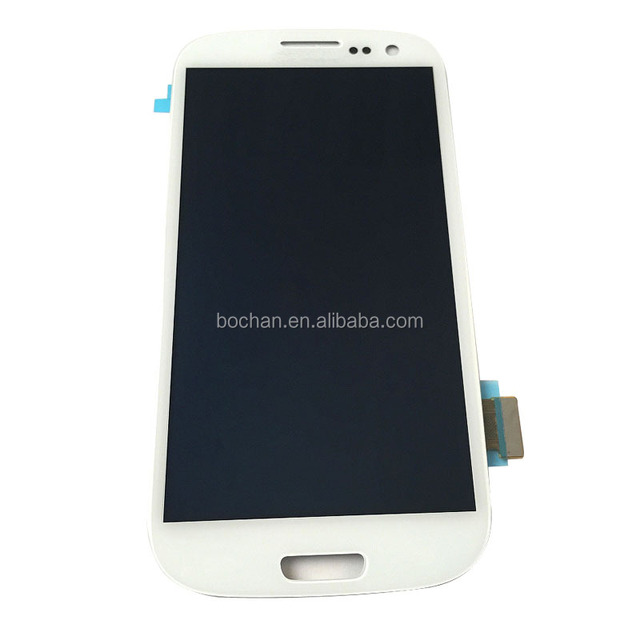 2014,new,White for Samsung Galaxy S3 LCD Display + Touch Digitizer Screen Assembly I9300