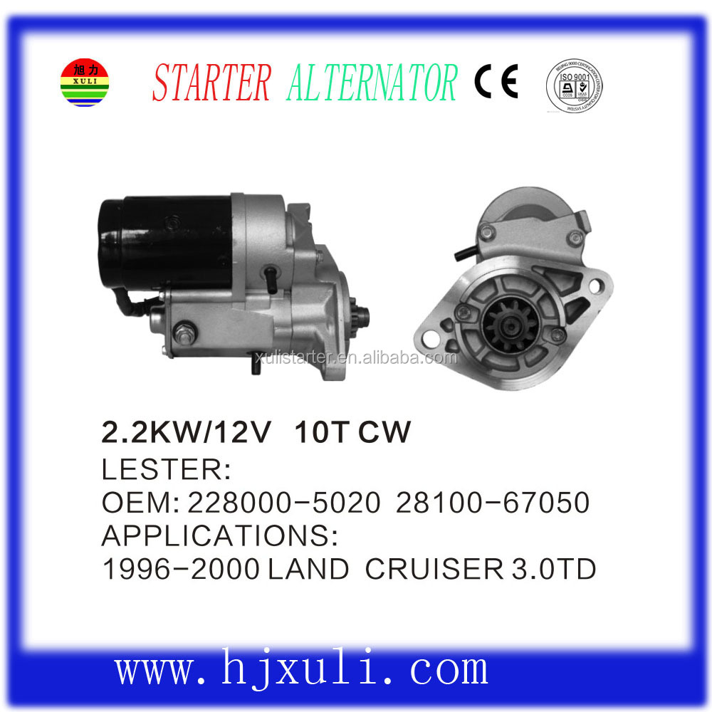 Hot Selling For Auto Starter Motor Parts Electrical Motor Starter