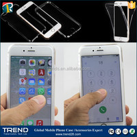 low price china clear tpu touch screen phone case for iphone 6s
