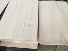 edge glued paulownia solid wood boards