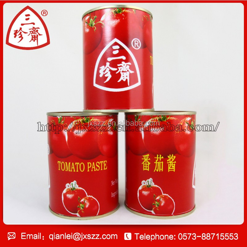 Fresh vegetables canned tomato paste concentrated 28-30% , tomato sauce