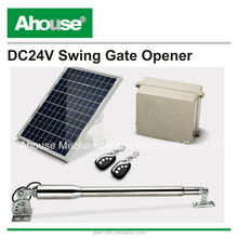 350KG Solar Single Swing Auto Automatic Motor Powered Remote Gate Opener