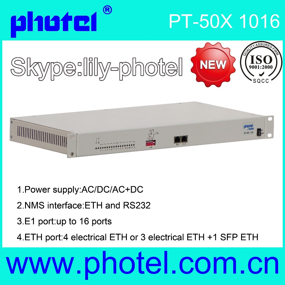 8E1 To Ethernet Analog To IP Converter