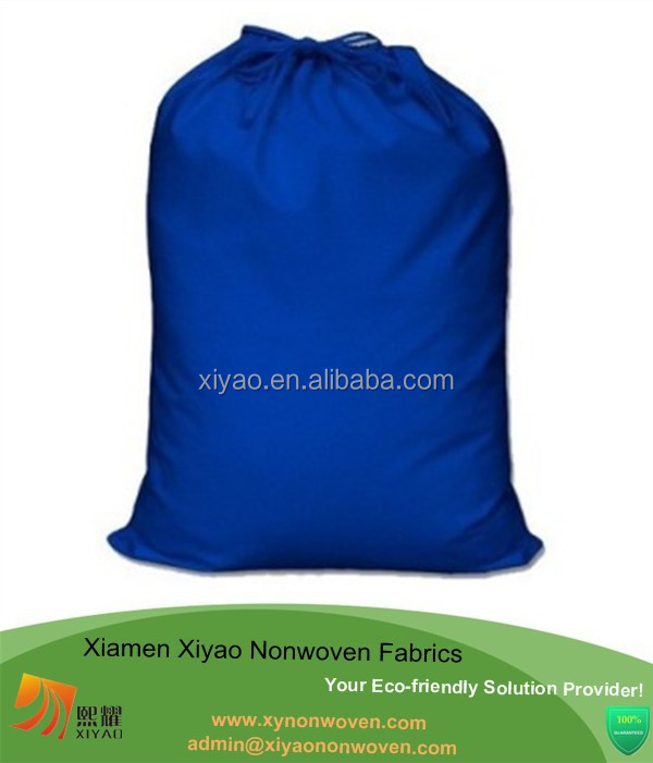 Wholesale price canvas drawstring bag for wine bag