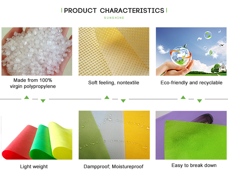 Disposable color tablecolth tnt nonwoven tablecloth