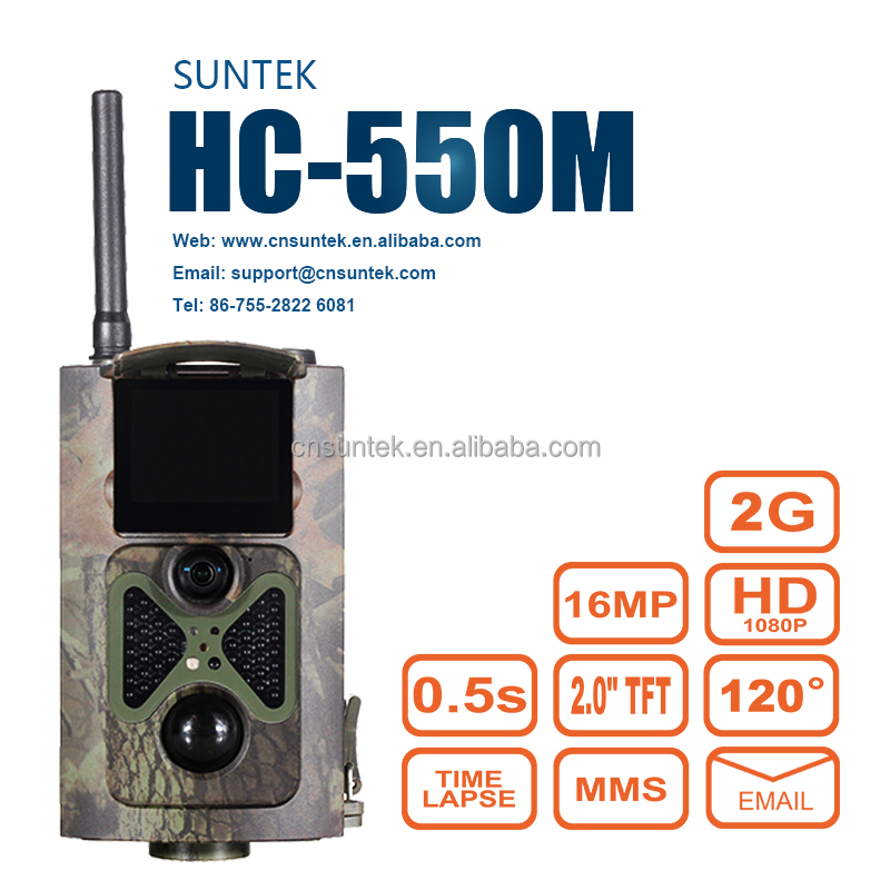 16MP 1080P Waterproof Night Vision Invisible PIR Digital Hunting Trail Camera With SIM MMS SMTP Thermal Scout Guard