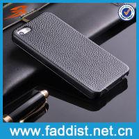 Genuine Leather Flip Cover for iphone5 Case Hot Sell