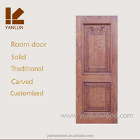 made in china new style exterior carved wood door