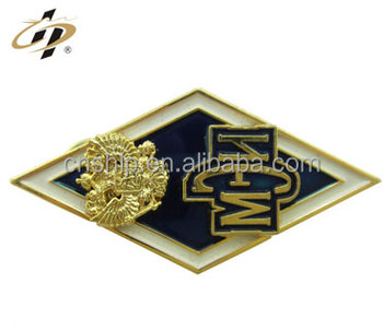 Customize gold manufacturers custom made metal name lapel pins
