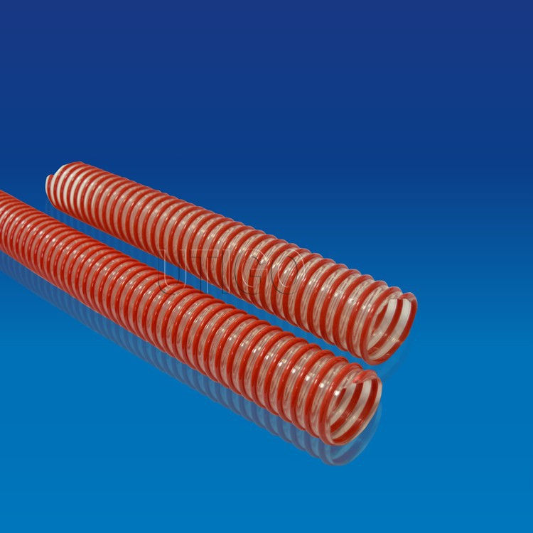 Flexible with low weight PU suction duct