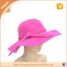 Common Fabric Feature and Female Gender Floppy Felt Hat
