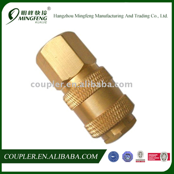 Professional Best Quality Pneumatic Brass Coupler