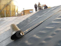 1mm Waterproofing Landfill Liner HDPE Geomembrane price