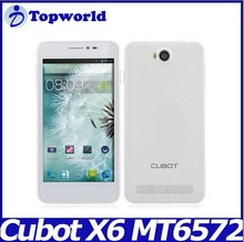 Cubot P6 anroid phone MTK6572W 1.3GHz Dual Core Android 4.2 5.0'' Smart Phone
