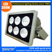 high power outdoor led flood light 300w with Epistar chips