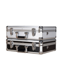Heavy duty stackable aluminum truck suitcase tool box
