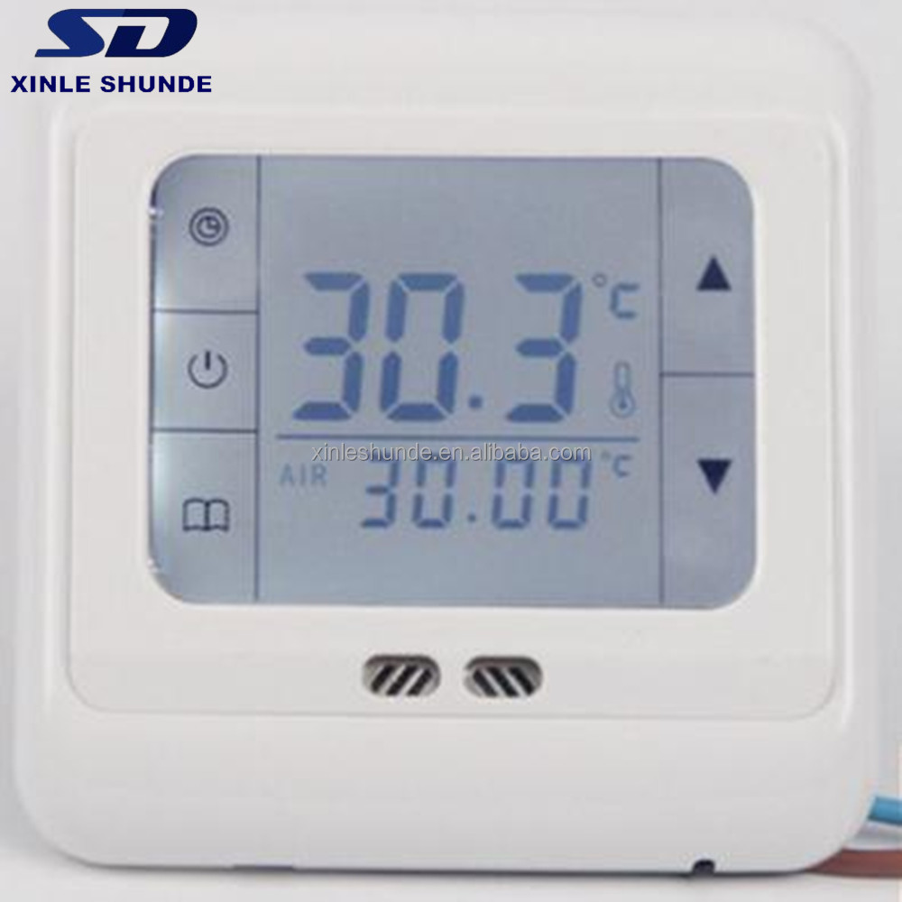 16A Electric LCD Thermostat For Floor Heating