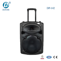 10 inch waterproof rechargeable stereo pa super bass bluetooth multimedia speaker system