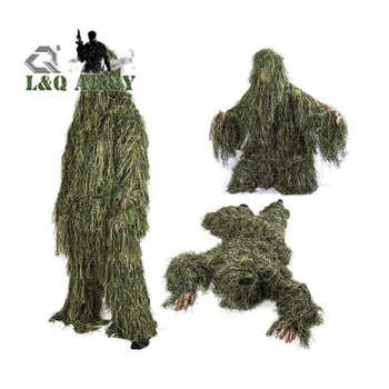 Gillie Ghillie Suit Woodland Camouflage Camo Hide