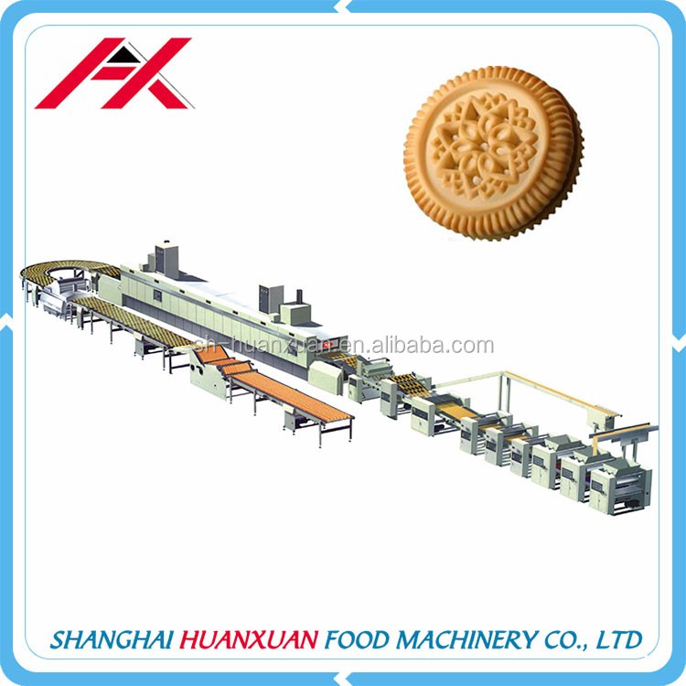 High Capacity Food Industrial Used Hard Biscuit Making Machines