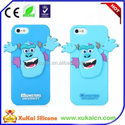 3D Monster silicone mobile phone case