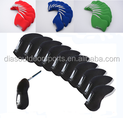 neoprene golf iron head cover