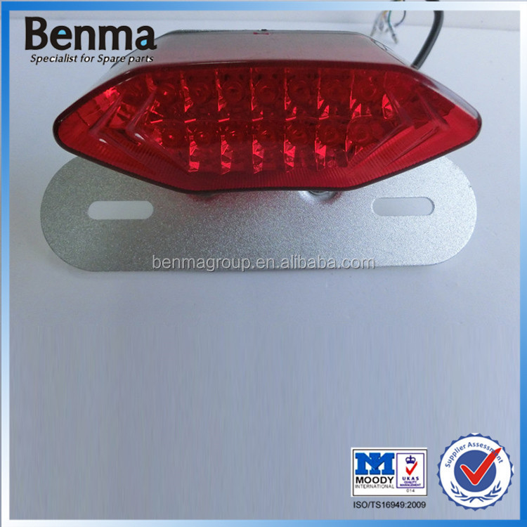 Universal LED motorcycle/electric bicycle/scooter/motorbike/autobike tail light