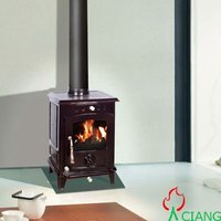 multi fuel cast iron wood heater
