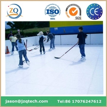 virgin material super glide pe synthetic ice hockey rink flooring