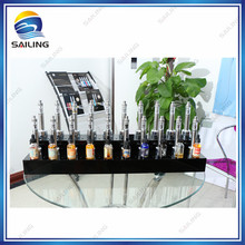 Athena design ecig e-liquid display case For Exhibition Store Display