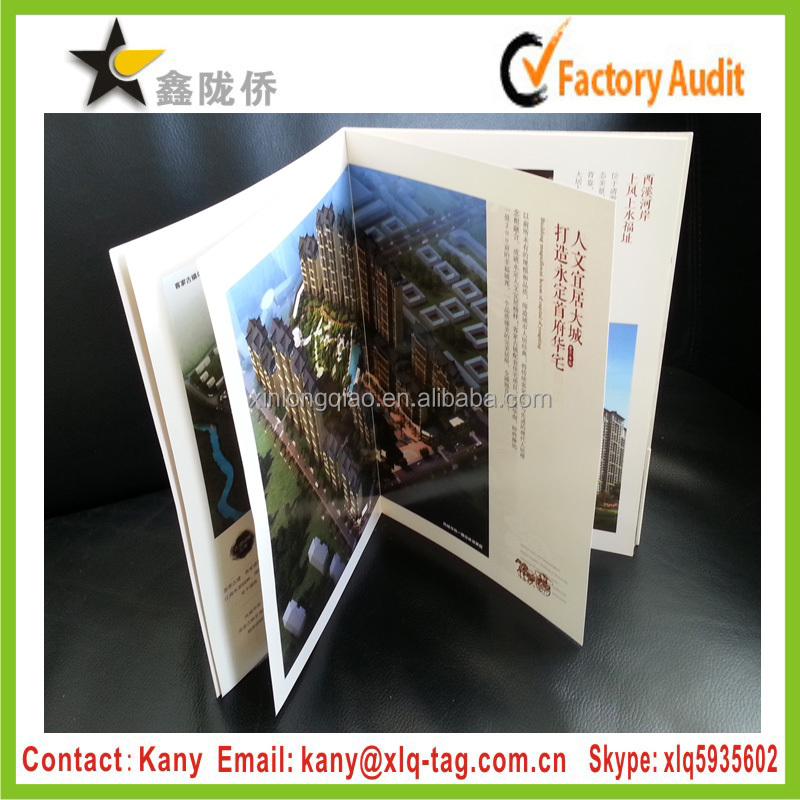 2016 Good service full colors offset printing wholesale booklet printer