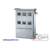 Sheet Metal Box For Electricity Meter With Lock