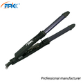 2017 straight and curl function 2 in 1 ceramic hair straightener with 1 inch Professional hair flat iron