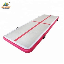 Cheap gymnastic mats inflatable 3m pink air track for sale