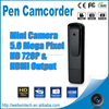 S3000 Mini Digital Video Recorder Hidden Camera Pen With HDMI Out 720P 5M Cmos Camcorder