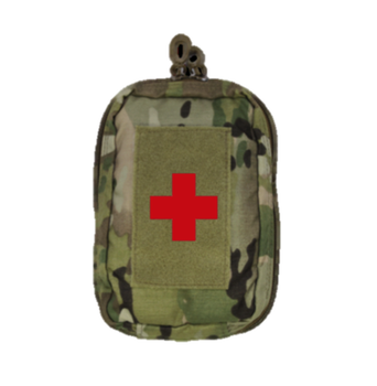 Tactical Basic Med IFAK Version Pouch First Aid Pouch with Modular Webbing