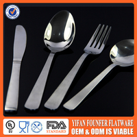 Stainless steel dinner set knife spoon and fork set cheap price