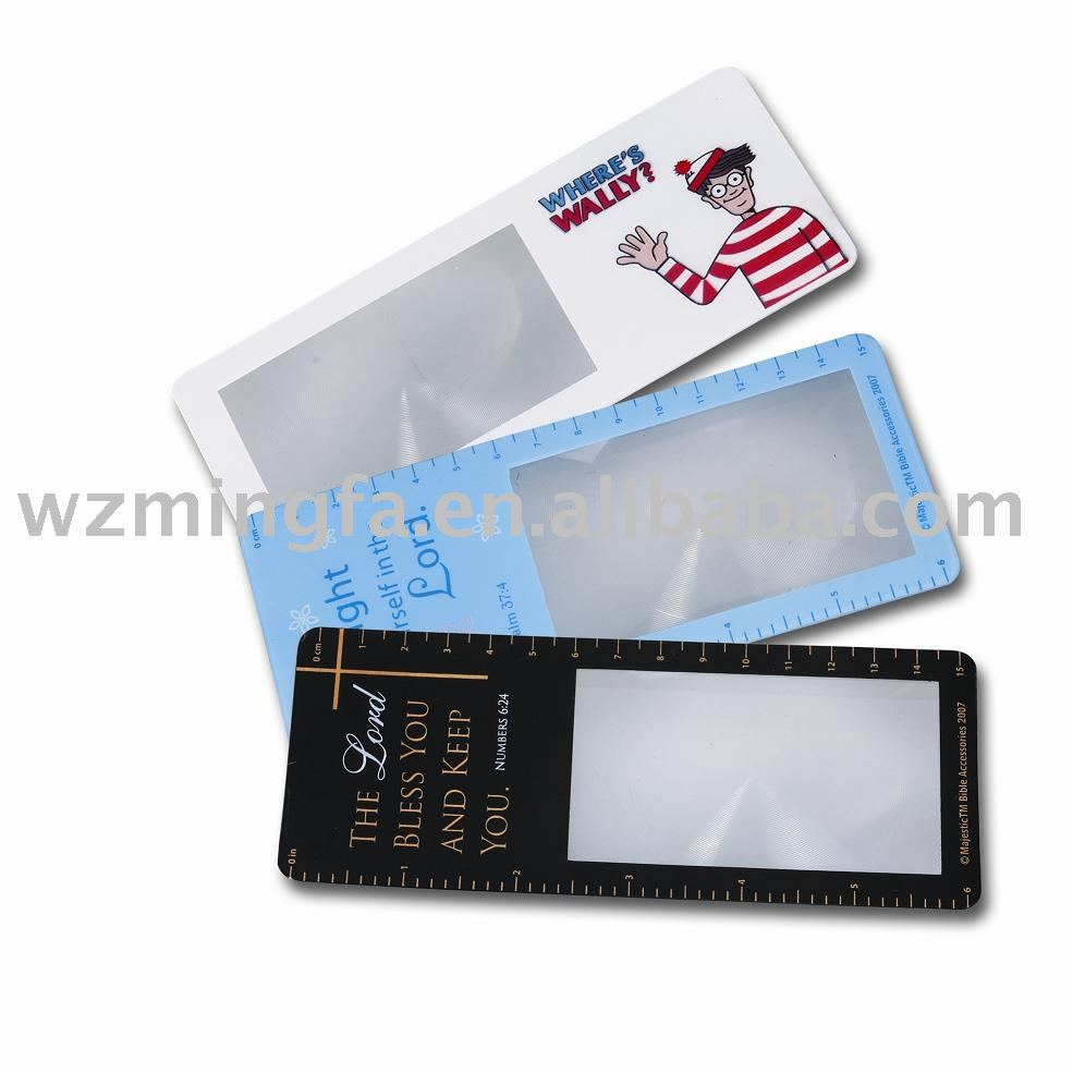 Bookmark Magnifier magnifier ruler
