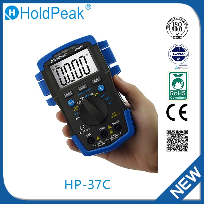 HP-37C Wholesale china factory true rms digital intelligent multimeter