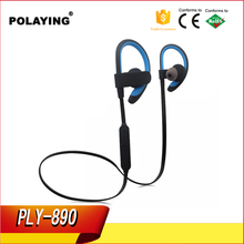 2017 High quality chinese factory Wireless bluetooth plastic earphone mini durable earhook for wholesales