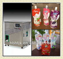 rose jam for soft drink in doypack with suction nozzle filling capping packaging machine