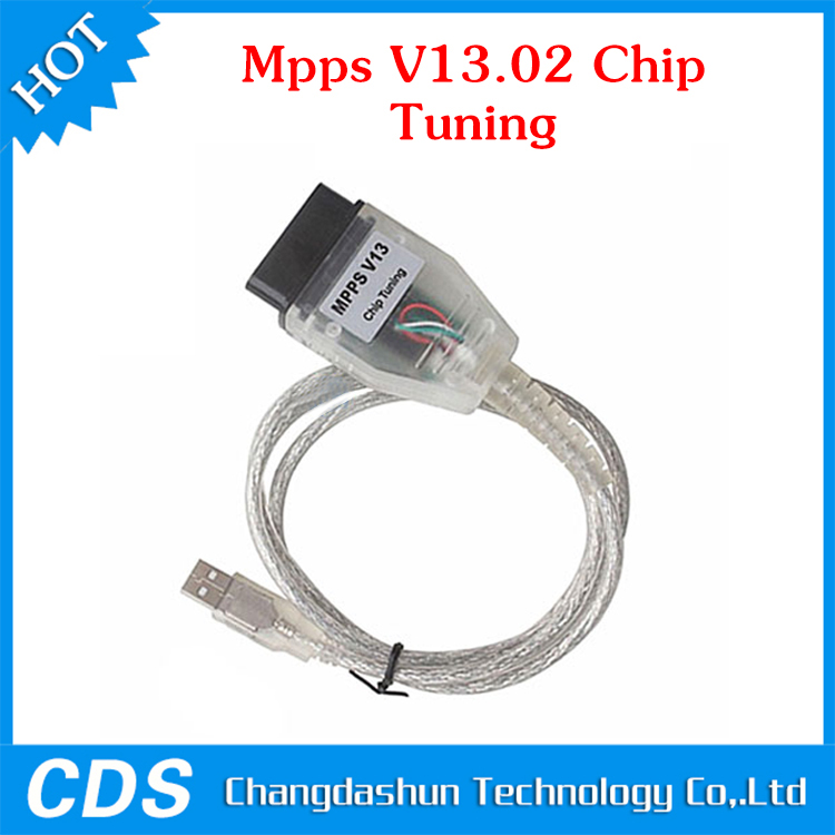 For SM-PS MPPS V13.02 V13 K CAN Flasher Chip Tuning ECU Programmer Remap OBD2 OBDII Diagnostic USB Interface - K+CAN