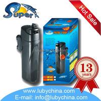 super aquatic JUP-01 Aquarium Internal UV pump Filter for fish tank , with UV light,