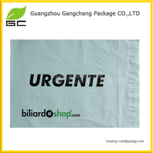 custom printed inner black and outer white co-extruded LDPE poly mailer bag