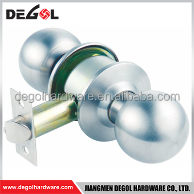 Hot sale stainless steel commercial emergency cylindrical door knob passage lock