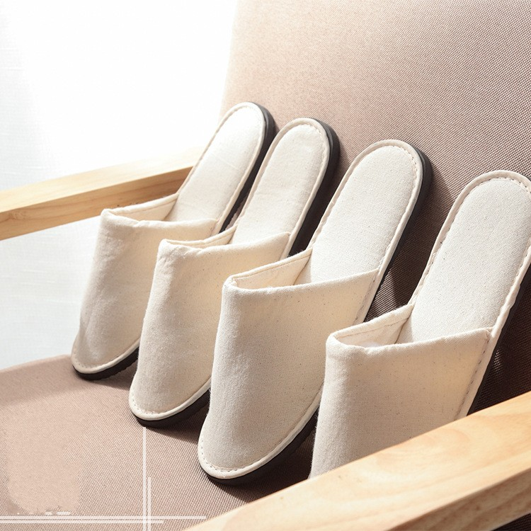 Beauty Salon Star Hotel Disposable Household Travel Portable Cotton Slipper